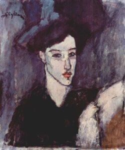 L'Ebrea / De jodin (1908) - Modigliani