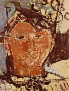 Ritratto di Picasso / Portret van Picasso (1915) - Modigliani