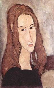 Ritratto di Jeanne Hébuterne / Portret van Jeanne Hebuterne (1918)