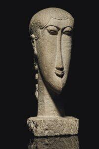 Testa / Hoofd (c. 1910-12) - Modigliani