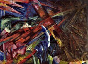 Tierschicksale / Het lot van dieren (1913) - Franz Marc