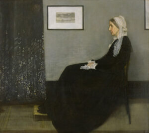 Arrangement in Gray and Black, No. 1 of Arrangement in Grey and Black: The Artist's Mother (1871) - James McNeill Whistler