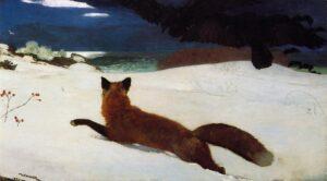 Fox Hunt (1893) - Winslow Homer