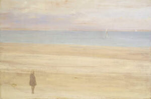 Harmony in Blue and Silver: Trouville (1865) - James McNeill Whistler