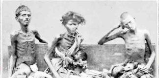 Hongersnoden met de meeste doden
