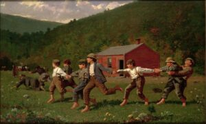 Snap the Whip! (1872) - Winslow Homer