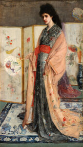 The Princess from the Land of Porcelain (1865) - James McNeill Whistler