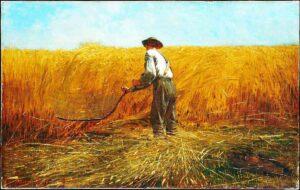 The Veteran in a New Field (1865) - Winslow Homer