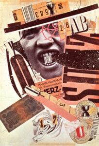 ABCD (Zelf-portret)(1923–1924) - Raoul Hausmann