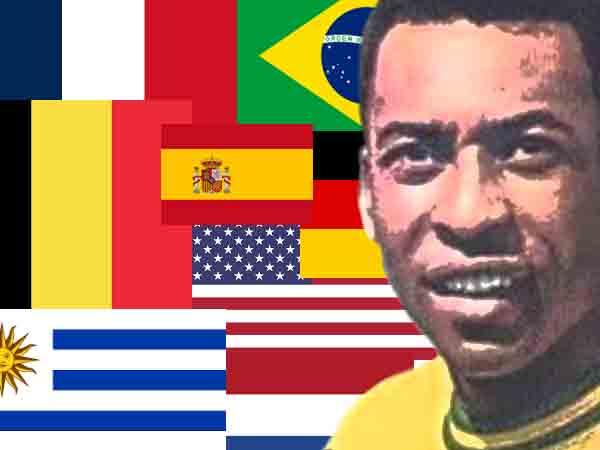 Beste voetballers per land