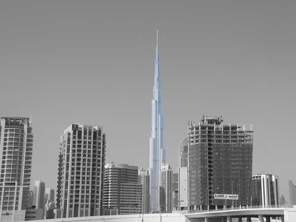 Burj Khalifa – Dubai Meest futuristische gebouwen ter wereld