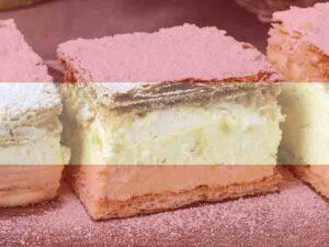 Populairste gerechten uit Oostenrijk: Cremeschnitte