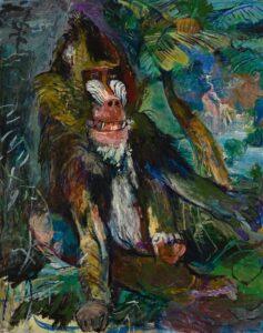 De mandril (1926) - Oskar Kokoshka