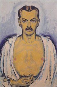 Selbstporträt (ci. 1915) - Koloman Moser