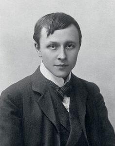 Alfred Kubin 1904; foto door Nicola Perscheid.