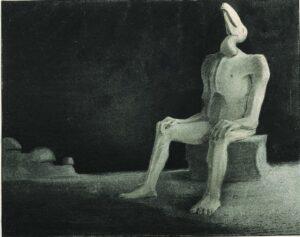 The Past Forgotten Swallowed (1901) - Alfred Kubin
