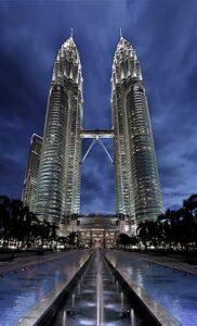 Petronas Tower 1 en 2 - Kuala Lumpur