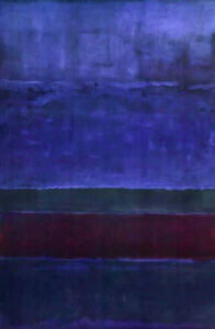 Blue Green and Brown (1952) - Mark Rothko