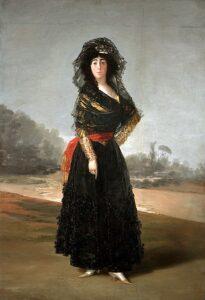 De hertogin van Alba / La duquesa de Alba (1797) - Francisco Goya