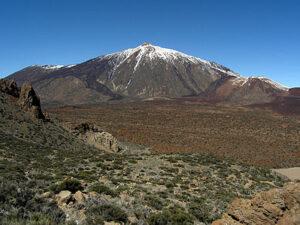 Hoogste bergen in Spanje: El Teide