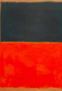 Green and Tangerine on Red (1956) - Mark Rothko