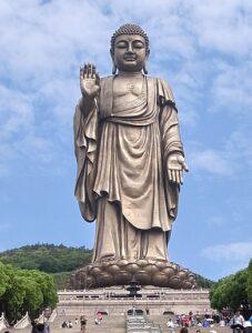 Grote Boeddha van Ling Shan, China – 88 meter