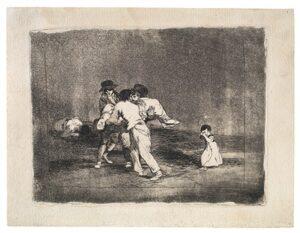 Ongelukkige moeder / Madre Infeliz! (1812-1814) - Francisco Goya