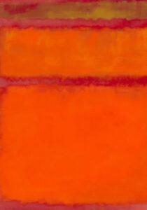 Orange Red and Yellow (1961) - Mark Rothko