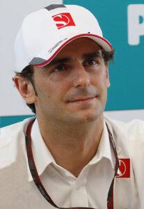 Pedro de la Rosa in 2010