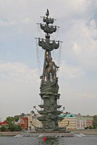 Standbeeld van Peter de Grote, Rusland – 96 meter
