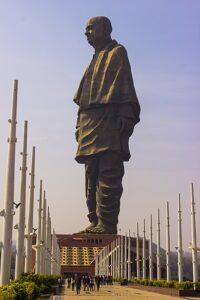 Statue of Unity, India – 182 meter
