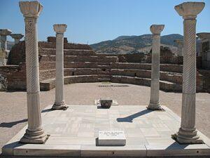 Tombe van de apostel Johannes