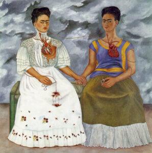 De Twee Frida's / The Two Fridas (1939) - Frida Kahlo