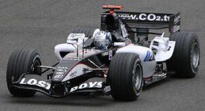 Friesacher tijdens de Grand Prix Groot-Brittannië in 2005