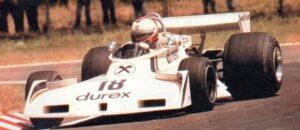 Hans Binder in de GP van Argentinië in 1977