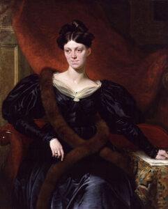 Harriet Martineau door Richard Evans, 1834