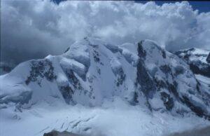 Lyskamm vanaf de Dufourspitze