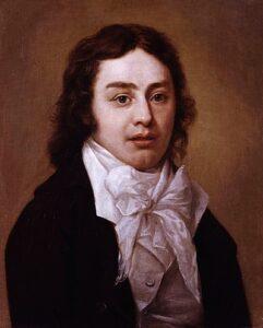 Portret van Samuel Taylor Coleridge (1772-1834), Pieter van Dyke, 1795