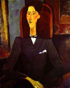 Ritratto di Jean Cocteau / Jean Cocteau (1916) - Amedeo Modigliani