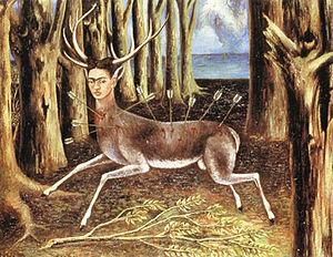 Het gewonde hert / The Wounded Deer (1946) - Frida Kahlo