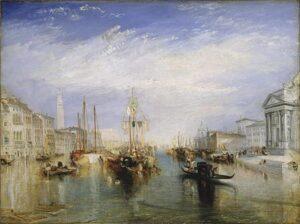Venice, from the Porch of Madonna della Salute (1835) - J.M.W. Turner