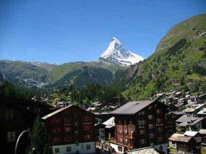Zermatt en de Matterhorn