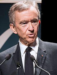 Bernard Arnault in 2017
