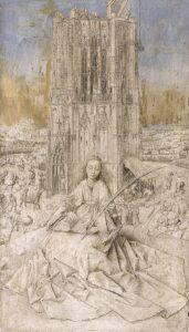 De Heilige Barbara van Nicomedië (1437) - Jan van Eyck