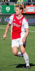 De Jong in 2019 (bij Ajax)