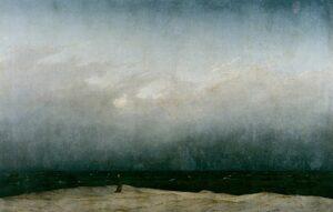 Der Mönch am Meer / De monnik bij de zee (1808 / 1810) - Caspar David Friedrich