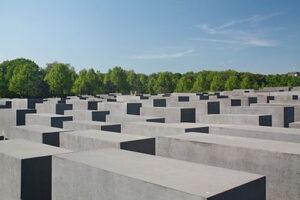 Holocaust-Mahnmal - Berlijn