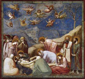 Lamento (Il Compianto di Cristo) / Klaagzang (De klaagzang van Christus) (1306) - Giotto di Bondone
