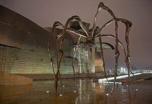 Maman (spin), Guggenheim Museum in Bilbao