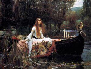 The Lady of Shalott (1888) - John William Waterhouse